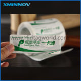 RFID UHF/Hf/NFC Destructive Printable Label para Identification Tracking