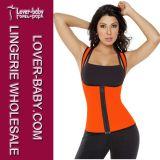 Chaleco termal de aumento del deporte de la manera del sudor de las mujeres (L42659-2)