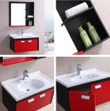 Vanité de salle de bains de Furnitry de miroir de PVC (B-8240)