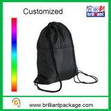 Nylon relativo à promoção/saco de Drawstring não tecido