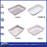 TwoのゾーンのConvinent Compartment Aluminum Lunch Foil Container