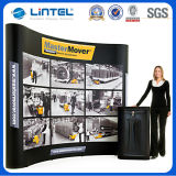 Tube quadrato Aluminum Banner Stand Magnetic Pop in su (LT-09L-A)