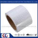 Ruban adhésif r3fléchissant blanc de nid d'abeilles de PVC pour la sécurité routière (C3500-OXW)