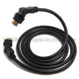 360 de Kabel van de Hoge snelheid HDMI van de Wartel van de graad 2.0V 1.4V met Ethernet