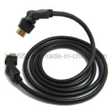 360 Hochgeschwindigkeits-HDMI Kabel 2.0V 1.4V des Grad-Schwenker-mit Ethernet