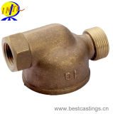 OEM Custom Brass en Bronze Casting met Machining