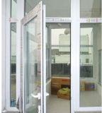 UPVC Сторон-Повиснуло окно Casement отверстия легкое приводится в действие окно Casement PVC