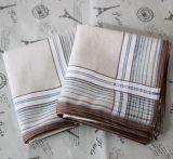 Le mouchoir de coton des hommes imprimés par coutume bon marché populaire