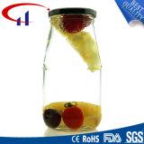 Jampot de van uitstekende kwaliteit van het Glas met het Deksel van het Metaal (CHJ8268)