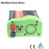 CC 300W all'invertitore dell'automobile di CA, 12V 110V all'invertitore 300W, invertitore modificato dell'onda di seno