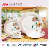 Jeux de dîner en céramique de vaisselle de forme ronde