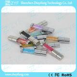Azionamento di cristallo della penna del USB dei monili di vari colori (ZYF1902)