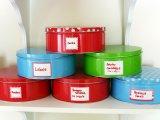 Cookies Food Tin Box avec impression d'oeuvres sur mesure