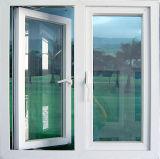 O balanço de alumínio o mais atrasado Windows com vidro Tempered laminado dobro