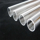 Venta caliente esmalte transparente del tubo del cuarzo para el calentador