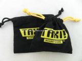 よい販売の安く自然な綿のドローストリングの袋