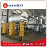 Sistema usato di rigenerazione dell'olio con il processo avanzato di distillazione sotto vuoto