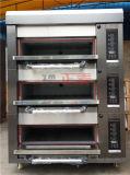 Prix électrique commercial de four de pizza de traitement au four de chauffage d'usine industrielle industriel (ZMC-306D)