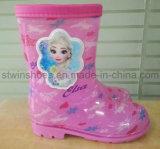 2016 новых удобных низких ботинок девушки пятки. Малыши Rainboots