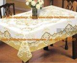 Linha de produção maquinaria do Tablecloth do Gilding do PVC