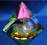 Laser Crystal Paperweight di Home Decoration 3D di qualità
