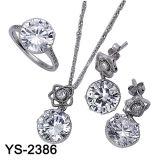 Reeks van het Koper van de Juwelen van de Manier van het Ontwerp van Hotale de Zilveren (ys-1436, ys-1871, ys-2408, ys-2396, ys-2386, ys-2361, ys-2276)