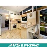 台所装飾(AIS-K146)のためのギャラリーPVC食器棚の家具