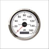 Velómetro popular 160mph del velocímetro de 85m m GPS con el contraluz para el tractor de la motocicleta
