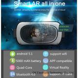 Vidros 1280*720 1GB/8GB todo de Oksmart 3D Vr em um Vr
