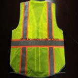 Maglia di sicurezza con la fascia 300d Oxford di avvertenza di Relective e la maglia