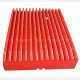 Sand-Gussteil-regelten hoher Mangan-Stahl/Schwingen-Kiefer-Platte