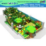 Campo de jogos das crianças do campo de jogos do castelo do divertimento campo de jogos macio interno do grande (H14-0722)