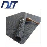 Esteira de tabela tecida antiderrapagem impermeável do PVC da cor 4*4 contínua
