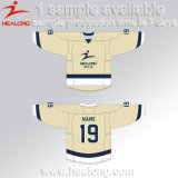 Healong volles Sublimation-Polyester-Eis-Hockey Jersey