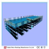 中国の製造業者の頑丈な金属の中国の鋼鉄サポートの記憶の鋼鉄プラットホームの棚システム最もよい製造者