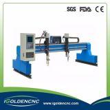 Máquina de estaca do plasma do CNC da flama para o metal de alumínio