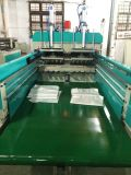 중국 기계를 만드는 고속 t-셔츠 부대를 자르는 2개의 선 열
