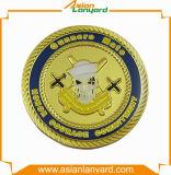 Anunció la moneda del metal con el esmalte de Sfot