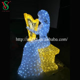 Natal Decoration Lights com diodo emissor de luz Angel