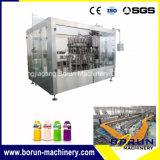 Het Vullen van het Vruchtesap de Installatie van de Machine voor de Flessen van het Plastiek en van het Glas