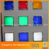 Покрасьте пластичный лист плексигласа PMMA акриловый для продуктов освещения СИД