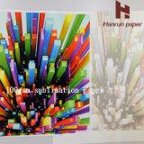 70g 90g 100g голодают сухая бумага сублимации краски для перехода полиэфира