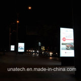LED Aluminum Scrolling Billboard Publicidad al aire libre Medial Light Box