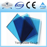 ゆとり、青銅、灰色、青は、染められたおよびフロートガラス緑化する