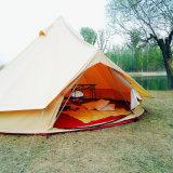 Segeltuch-Rundzelt des Durchmesser-3m 4m 5m 6m Glamping Sahara kampierendes