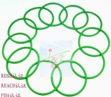 FDA, caucho de silicón, caucho de FKM, verde, Brown, anillo o negro