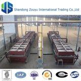 cadena de producción de la manta de la fibra de cerámica del grado estándar 5000t