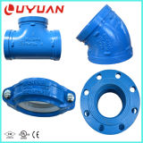 Accoppiamento blu del tubo del pezzo fuso di colore per la rete di fognatura dell'acqua