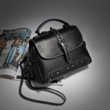 余暇の革ハンドバッグ、本革の女性トートバック