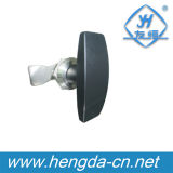 Fechamento de porta do punho do fechamento T da came do punho da liga do zinco (YH9791)